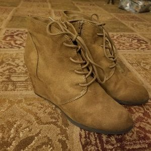 American Rag Lace Up Booties